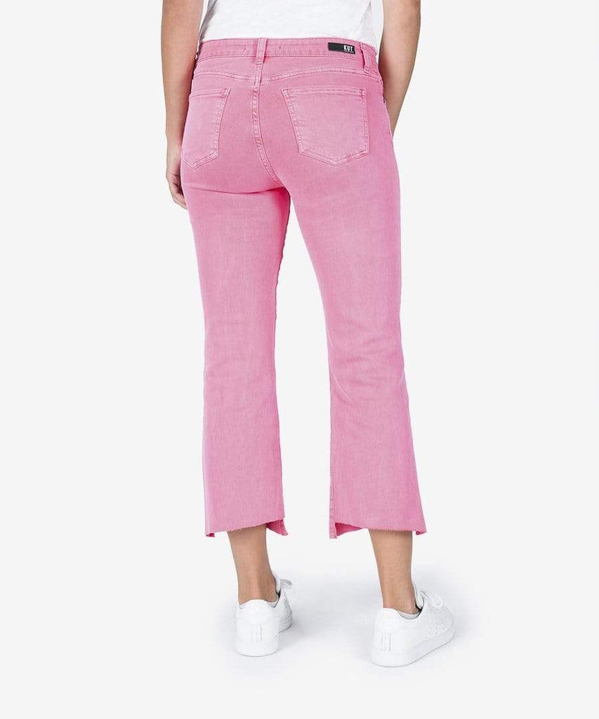 Kut from the Kloth Capris Kelsey Ankle Flair - Pink