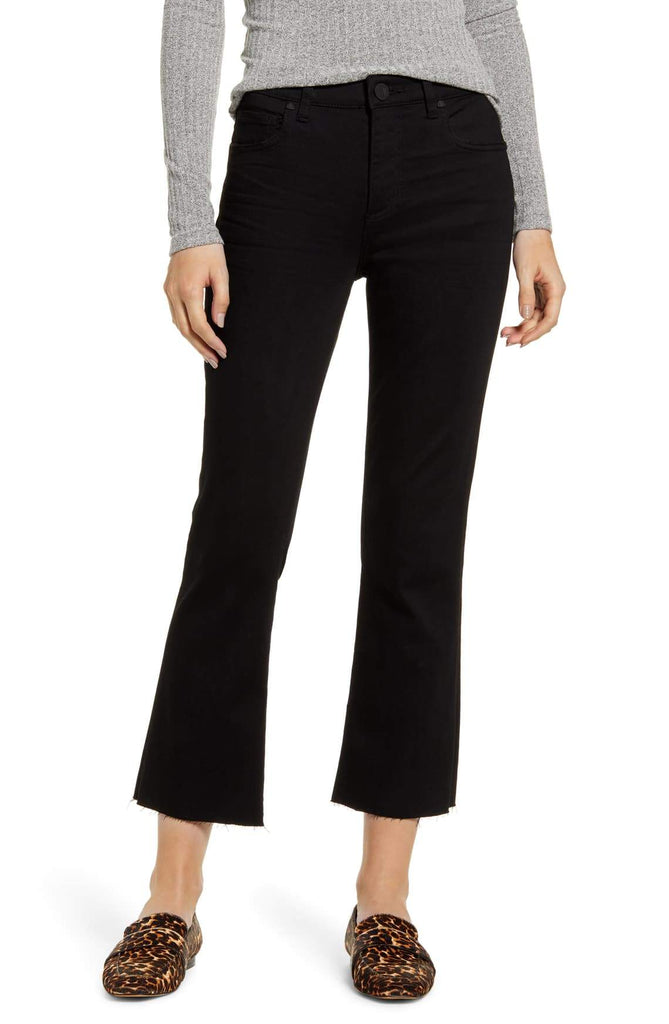 Kut from the Kloth Capris Kelsey High Rise Ankle Flare Jean