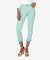 Kut from the Kloth Capris KUT Amy Cropped Straight Leg - Mint