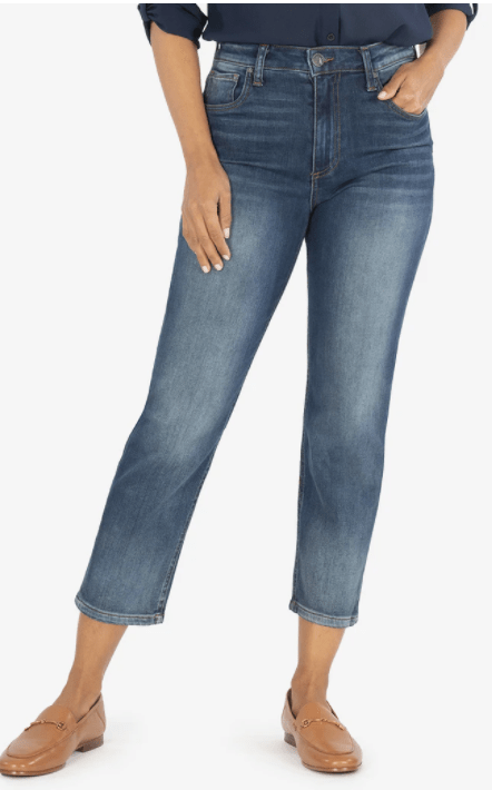 Kut from the Kloth Full Length Elizabeth Crop Straight Leg