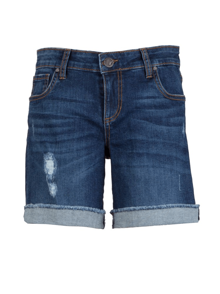 KUT Catherine Boyfriend Shorts - Animating