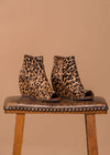 Naughty Monkey Wedges Copy of Leopard Hide Wedge