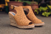 Not Rated Wedges Mustard Wedges - Jobyna