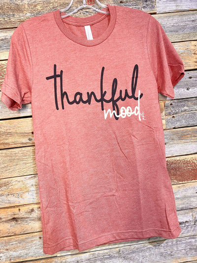 Prickly Pear Texas Graphic Tees Thankful Mood