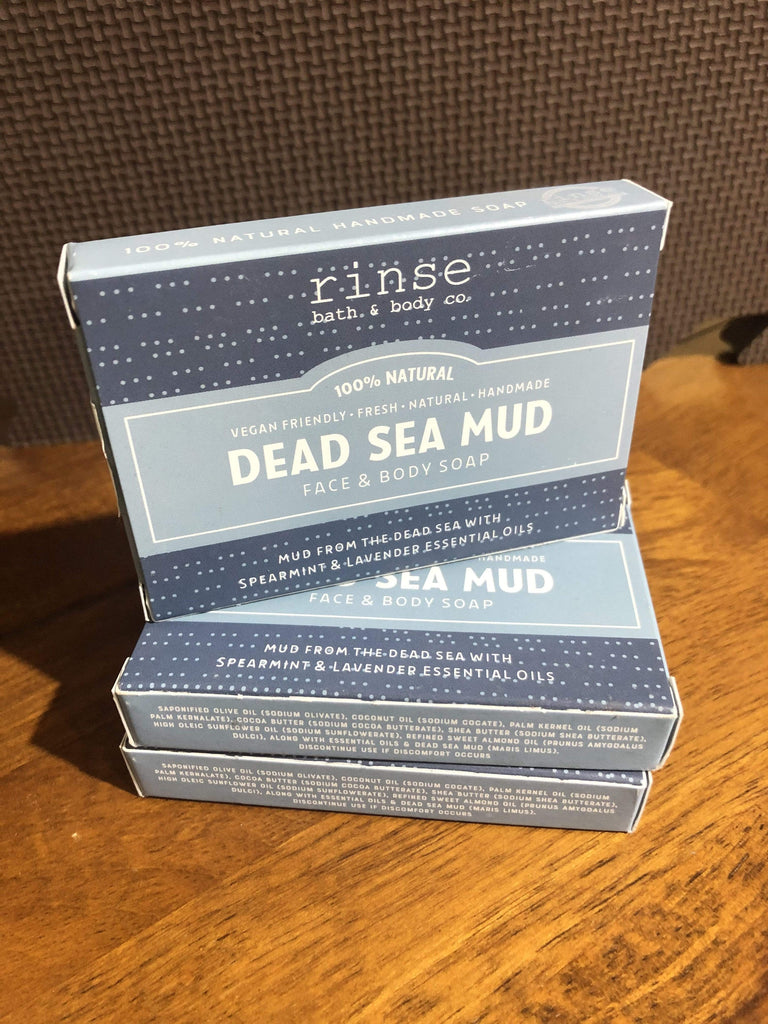 Rinse Beauty Dead Sea Mud Face & Body Soap