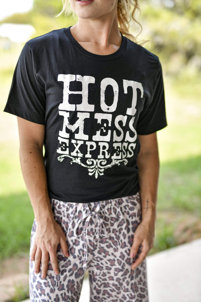 Texas True Threads Graphic Tees Hot Mess Express Printed Tee