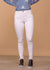 Wishlist Full Length White Skinny Jeans With Split At Hem