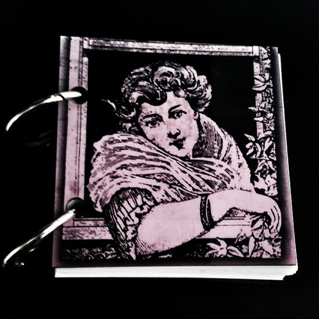 "Journal * Pink Lady 3""x3"""