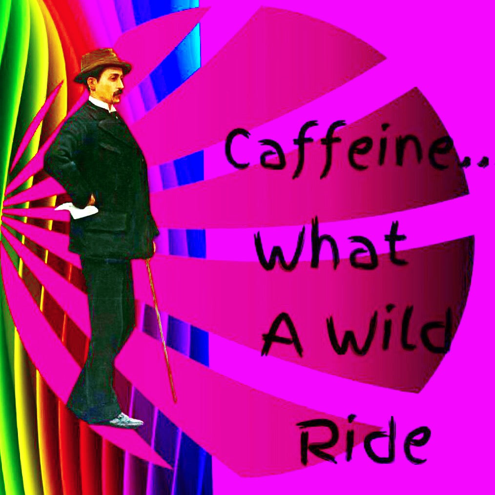 5x5 Coffee Card * Caffeine Ride