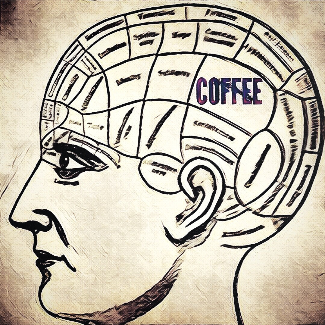 5x5 Coffee Card * Brain