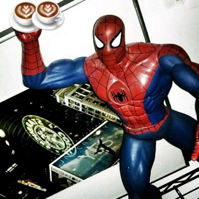 5x5 Coffee Card * Spidey NYC