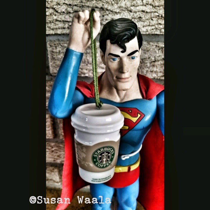 5x5 Coffee Card * Superman SBS