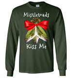 04020304 Mistletoads Fishing Long Sleeve T-Shirt
