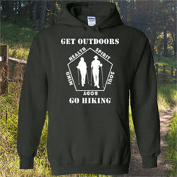 09040104 Get Outdoors Go Hiking Hoodie