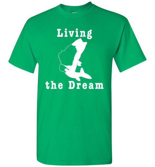 01010103 Living the Dream Children's Fishing T-Shirt