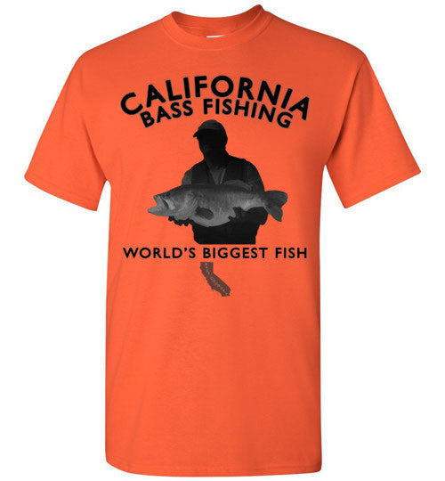 02010303 California Bass Fishing Children's T-Shirt