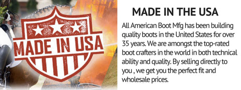 MADE IN USA BOOTS