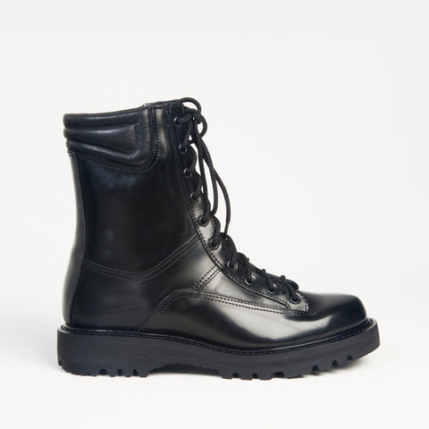police boots in cordura or all leather. made in the usa