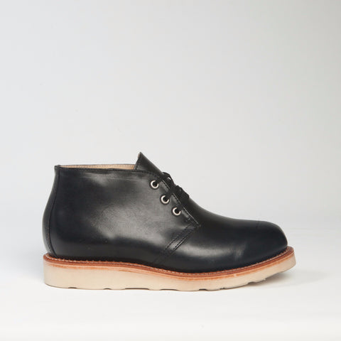 Chukka boot black vibram sole