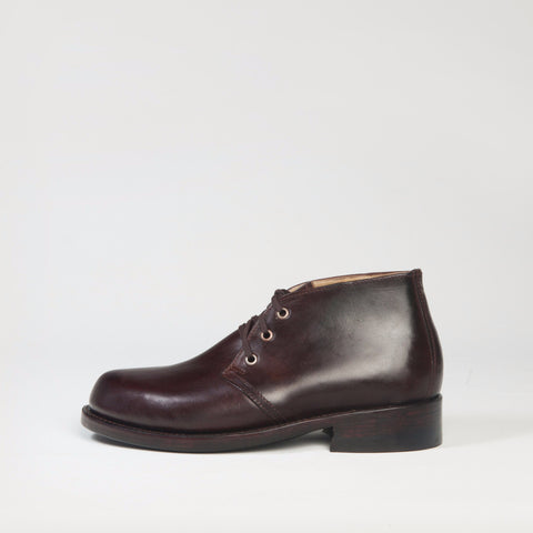 CHUKKA BOOT BROWN MADE IN THE USA