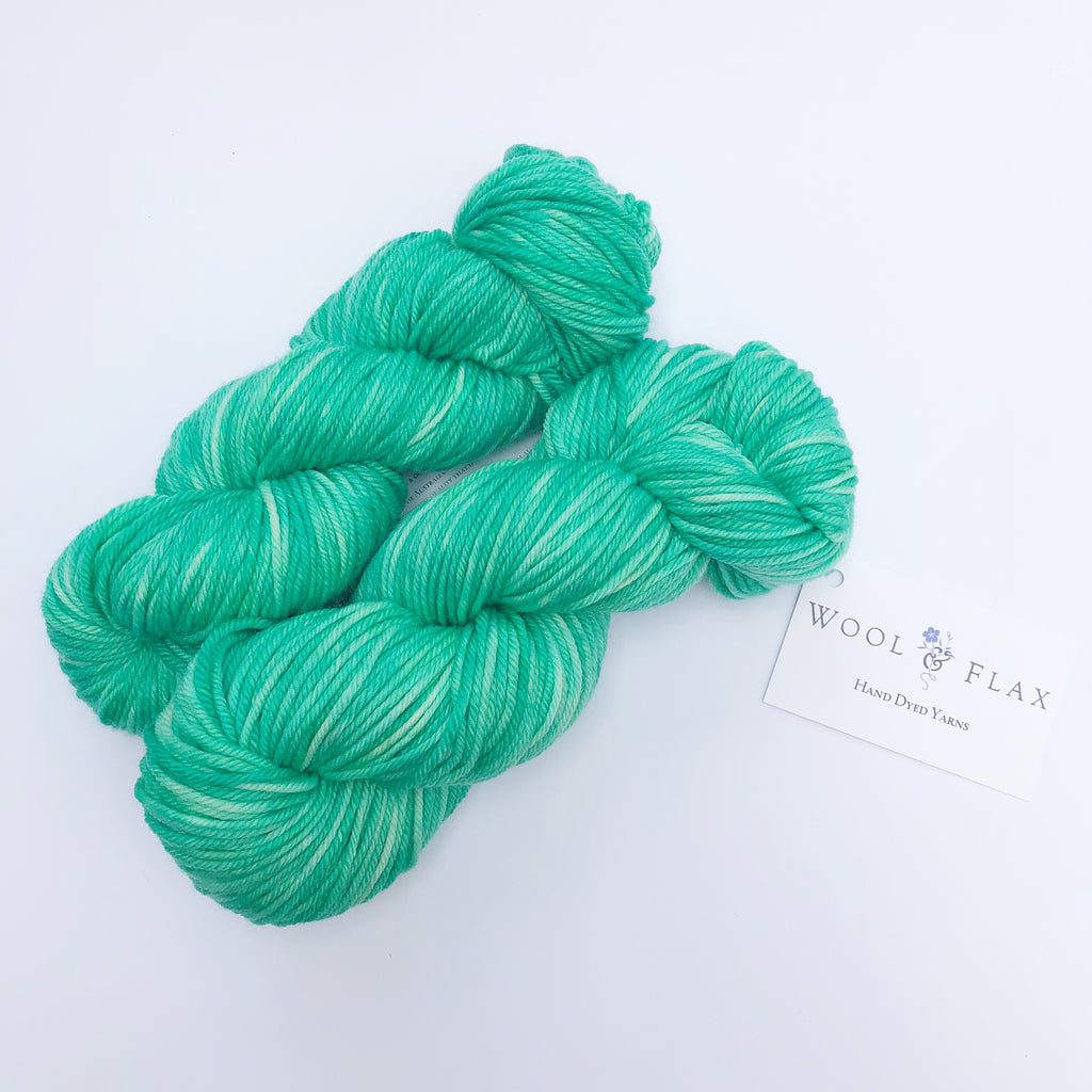 Wool & Flax - Emerald