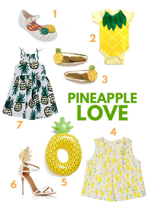 trend spotting: the pineapple of my eye