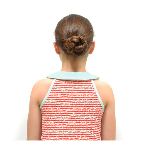 braid bun hair tutorial for girls