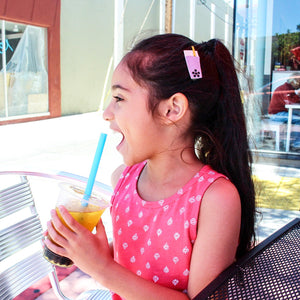 boba clip // hello shiso hair accessories for girls