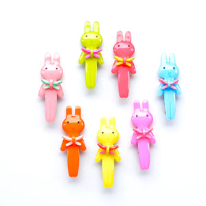 acrylic bunny clip // hello shiso hair accessories for girls