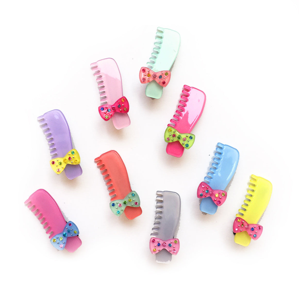 jeweled comb clip