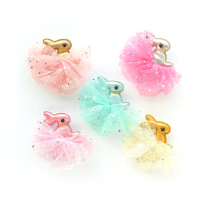 ballerina bunny // hello shiso hair accessories for girls