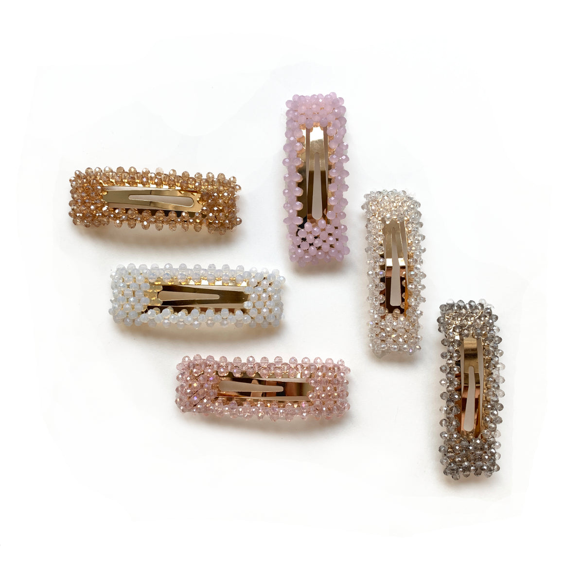 beaded rectangle // hello shiso hair accessories for girls
