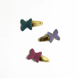 butterfly clips (sample) // hello shiso hair accessories for girls