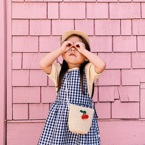 cherry crossbody // hello shiso hair accessories for girls