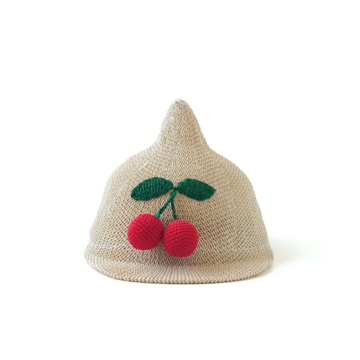 cherry hat // hello shiso hair accessories for girls