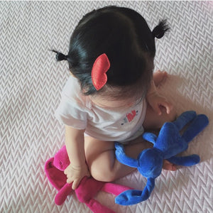 kiss clips // hello shiso hair accessories for girls