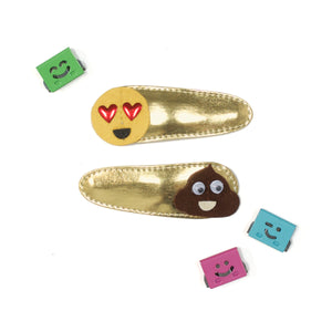 emoji clips // hello shiso hair accessories for girls