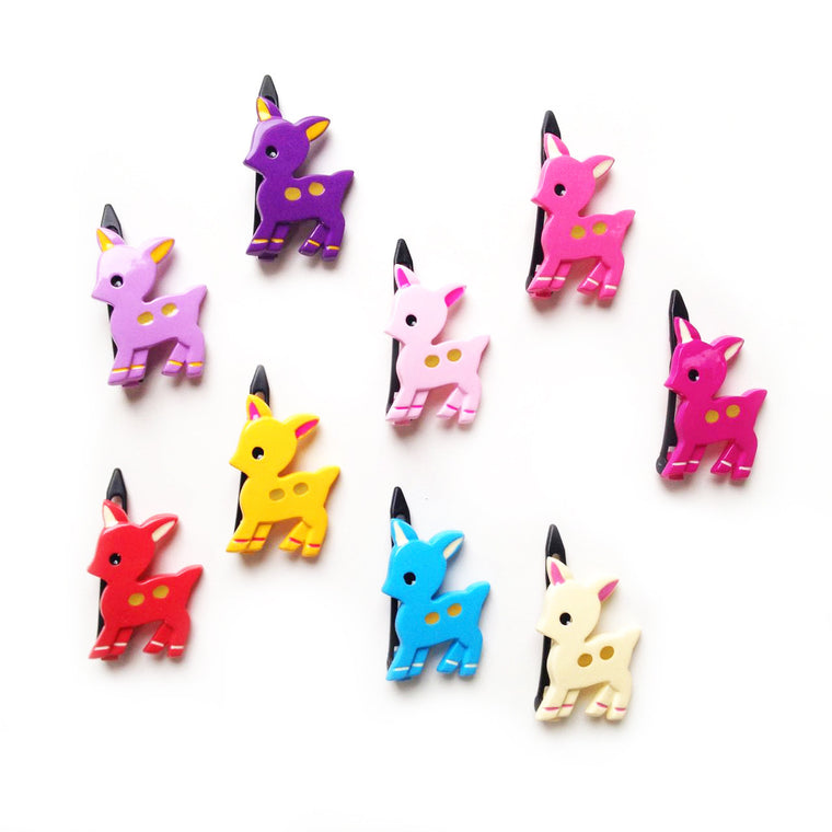 plastic fawn clip // hello shiso hair accessories for girls