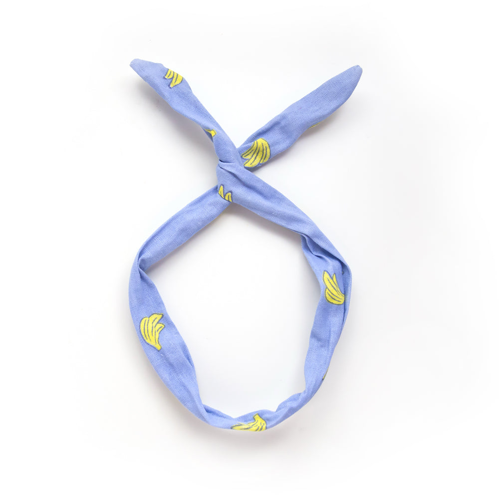 banana twist headband // hello shiso hair accessories for girls