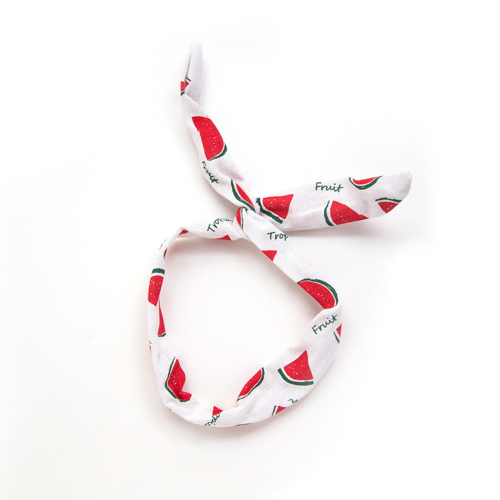 watermelon twist headband // hello shiso hair accessories for girls