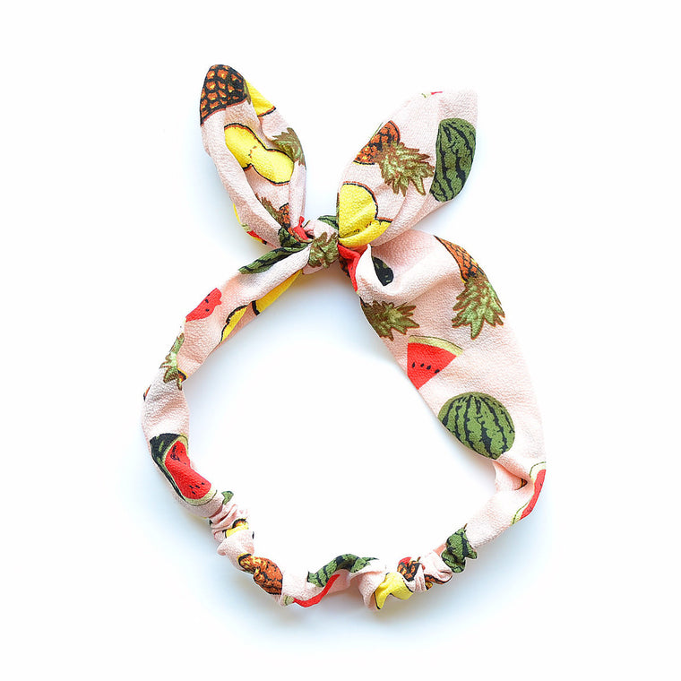 fruit headband // hello shiso hair accessories for girls