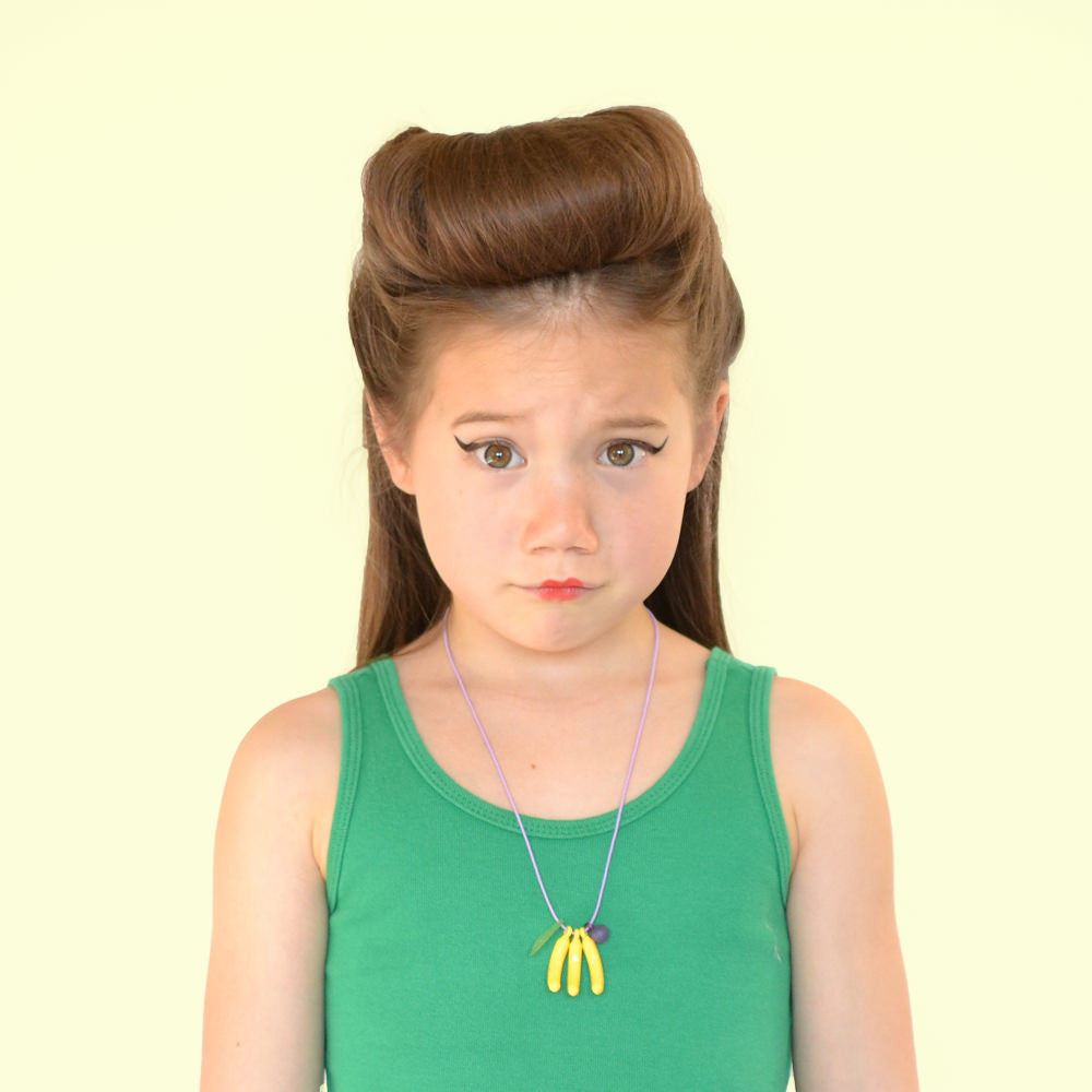banana necklace // hello hair accessories for girls