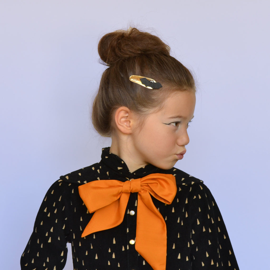 bat clips // hello hair accessories for girls