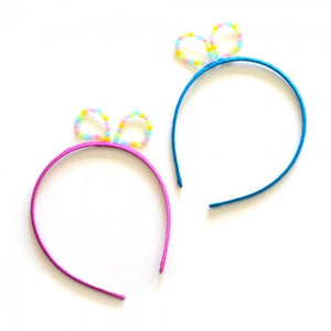 bead bow headband // hello shiso hair accessories for girls