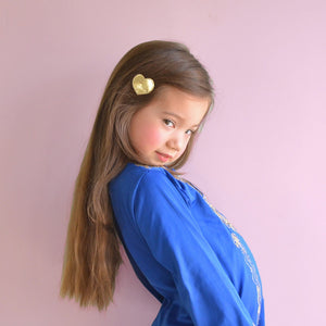big heart clips // hello shiso hair accessories for girls