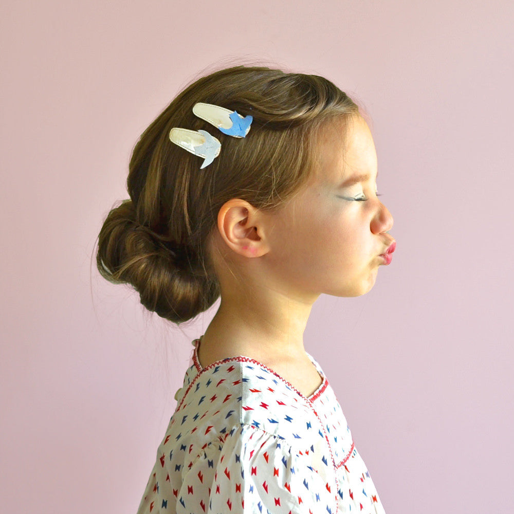 birdy clips // hello shiso hair accessories for girls