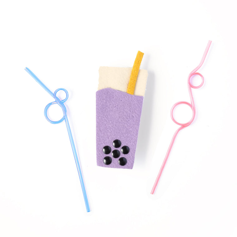 boba pinch clip // hello shiso hair accessories for girls
