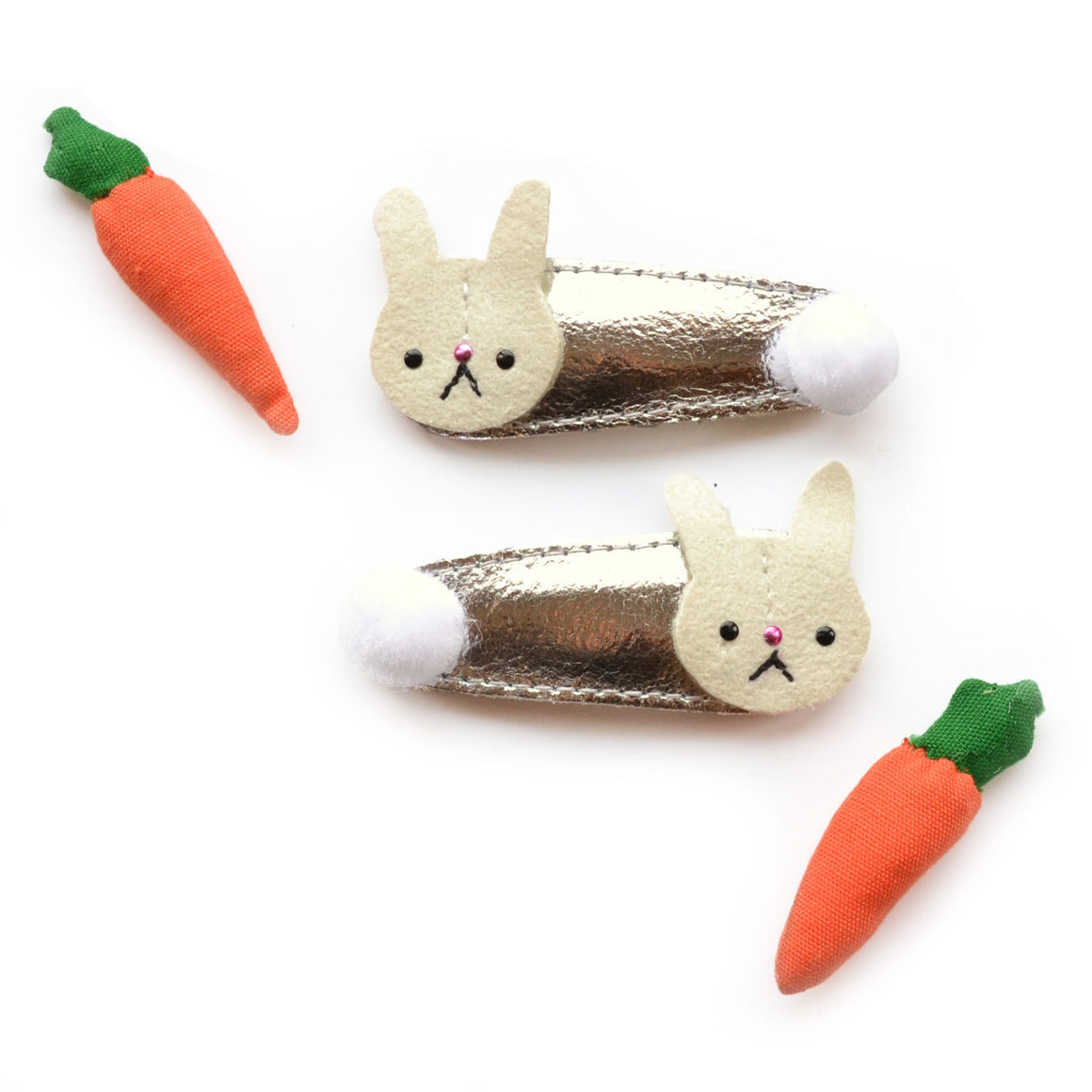bunny clips // hello shiso hair accessories for girls
