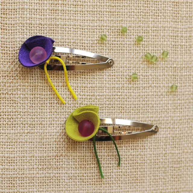 calla clip // hello shiso hair accessories for girls