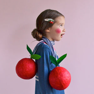 cherry clip // hello shiso hair accessories for girls